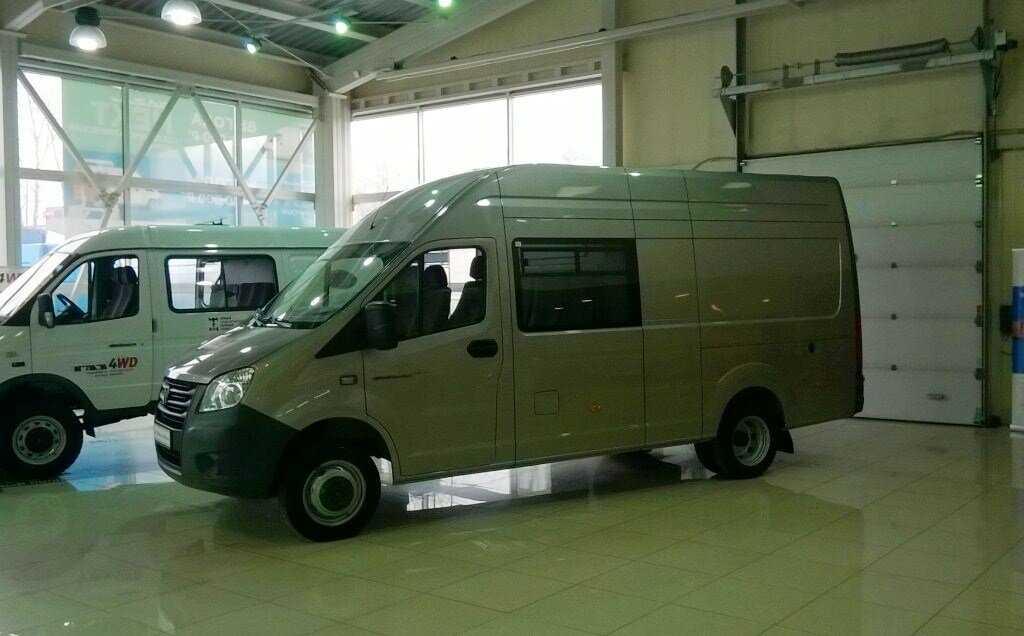 Начало выпуска Газель Next модификации обзор технические характеристики и комплектации «автобус» «фермер» цельнометаллический фургон отзыв