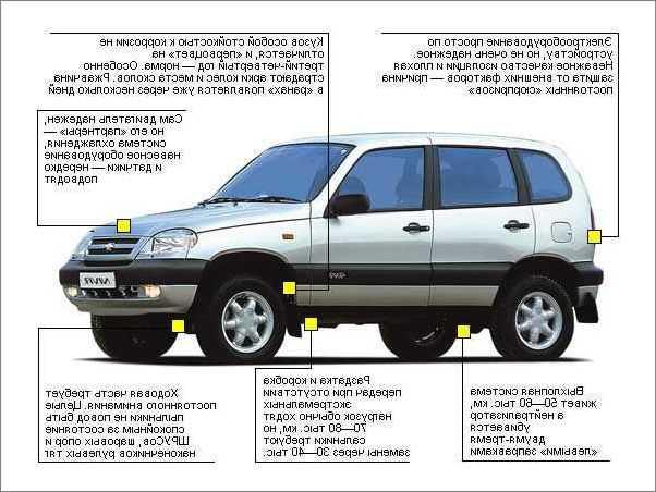 Проблемы с двигателем Chevrolet Niva трансмиссией и ходовой частью кузов и внешние элементы салон отзывы владельцев