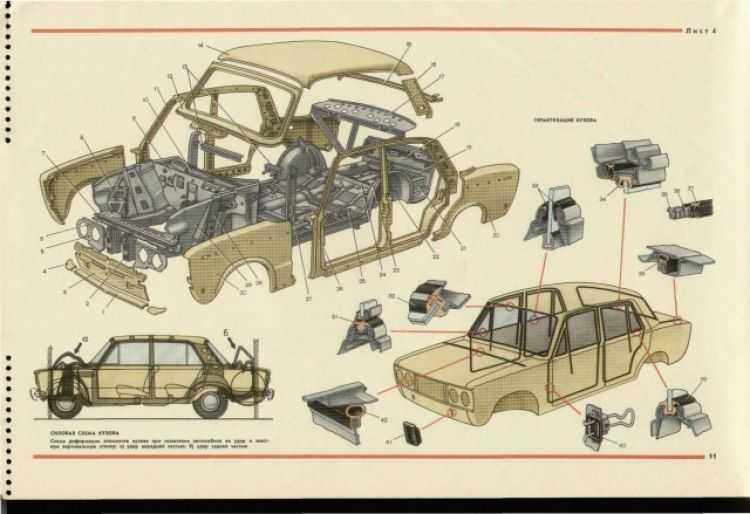 Схема системы охлаждения двигателя автомобилей ваз 2105, 2107