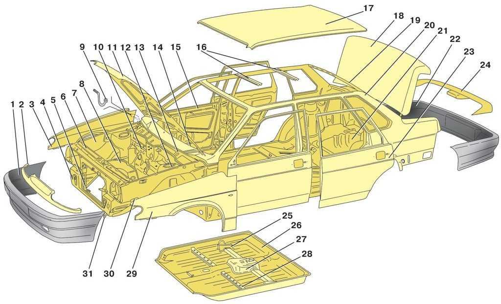 Общее устройство тракторов и автомобилей