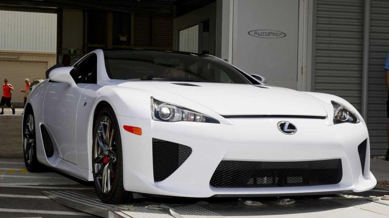 Возрождение Lexus LFA Toyota собирается возродить спортивное купе Lexus LFA