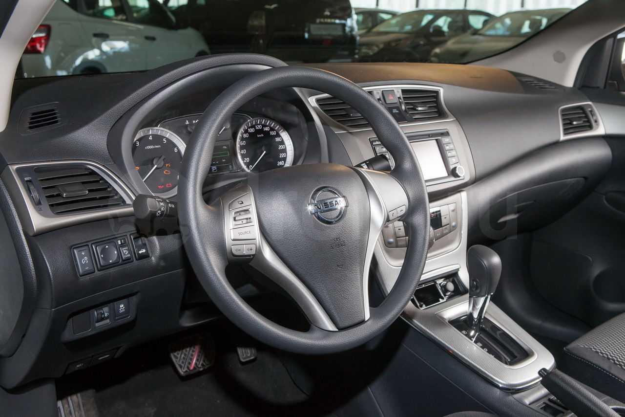Nissan Sentra 2016 в России комплектации и цены обзор двигатель трансмиссия салон отзывы автовладельцев