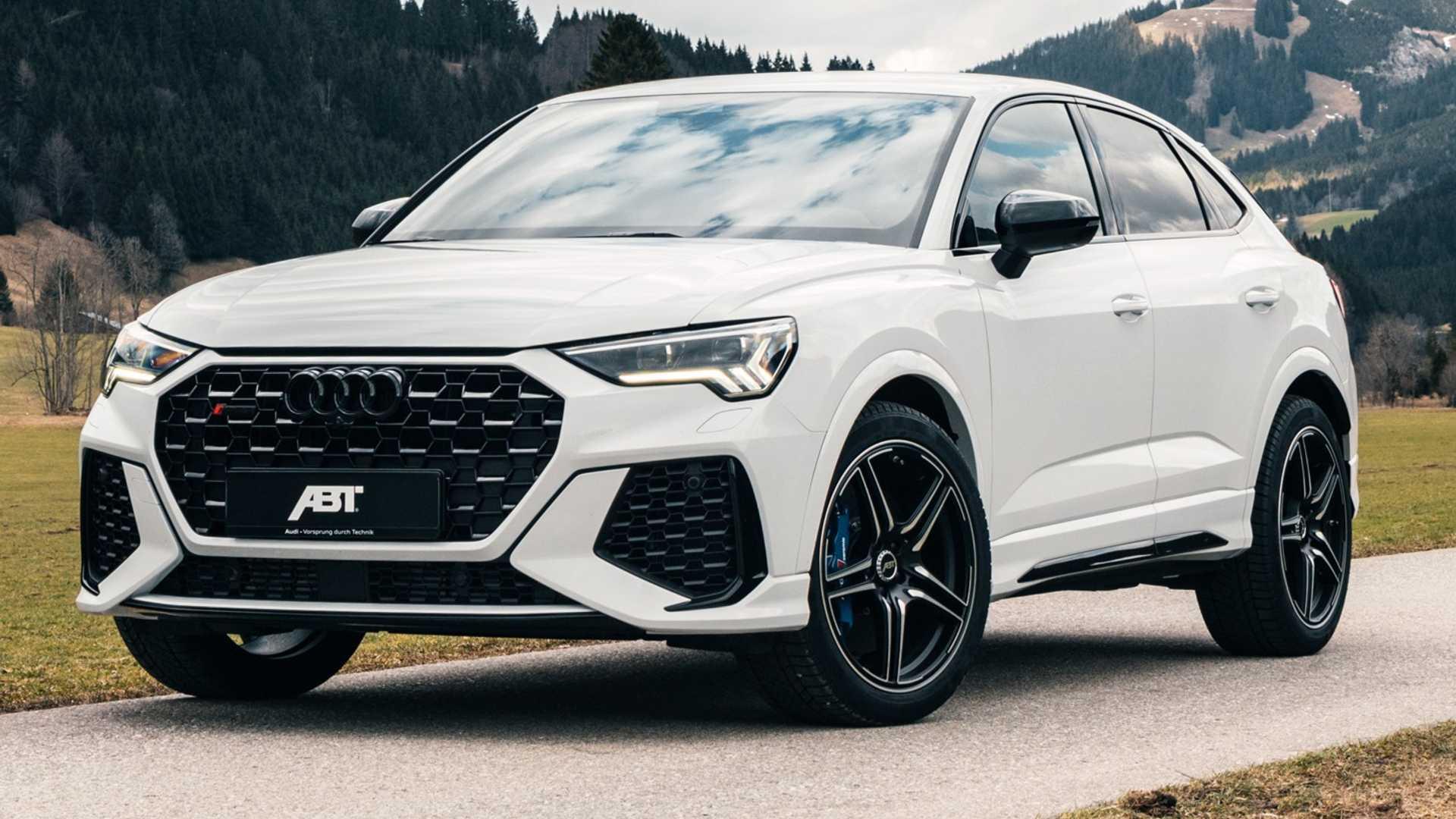 """Audi наконец представила """"заряженные"""" кроссоверы rs q3 и rs q3 sportback"""