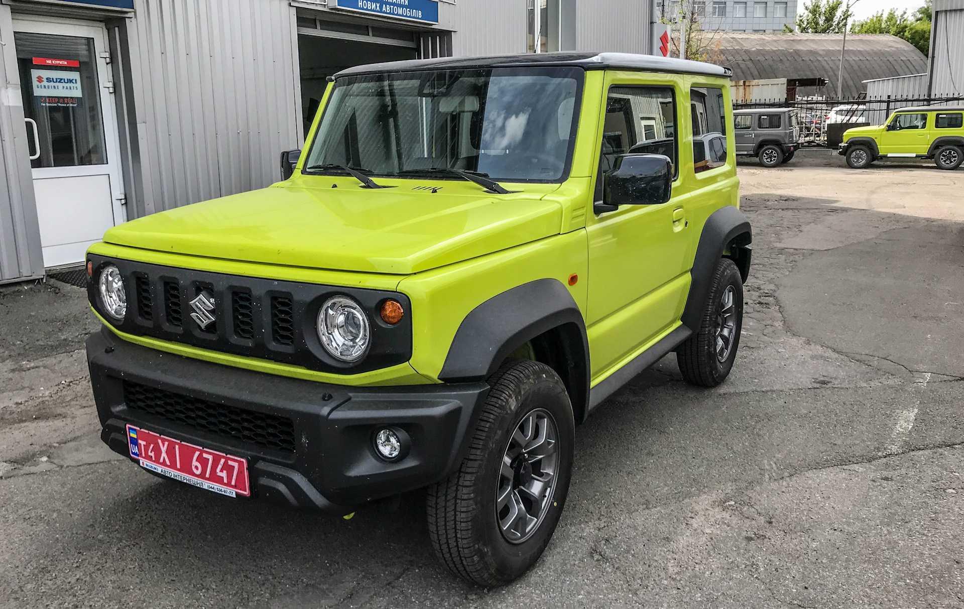 Suzuki jimny 2020: самый доступный внедорожник на рынке