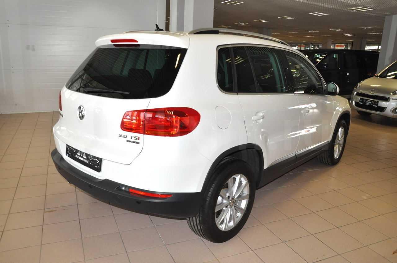 Volkswagen tiguan — описание модели