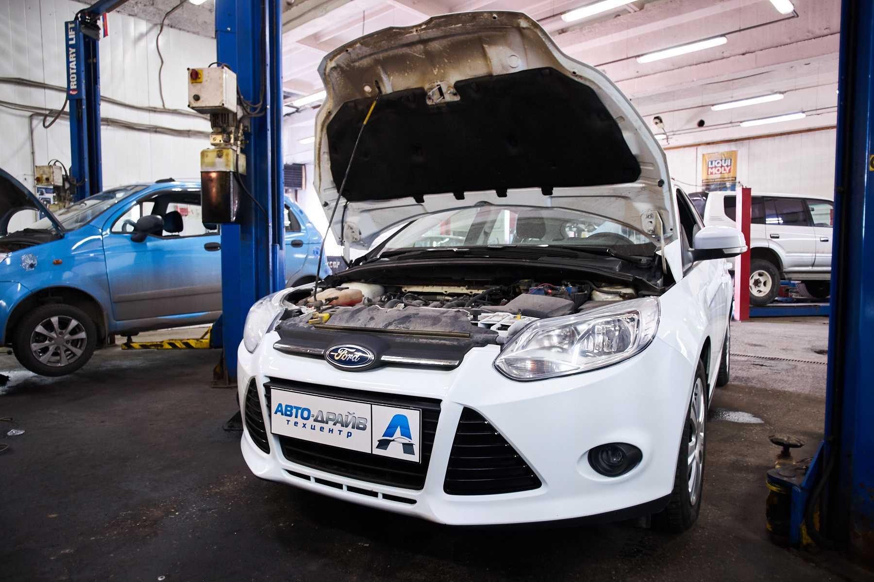 Обслуживание и ремонт Форд Фокус ходовой двигателя трансмиссии систем охлождения тормозной замена рабочих жидкостей