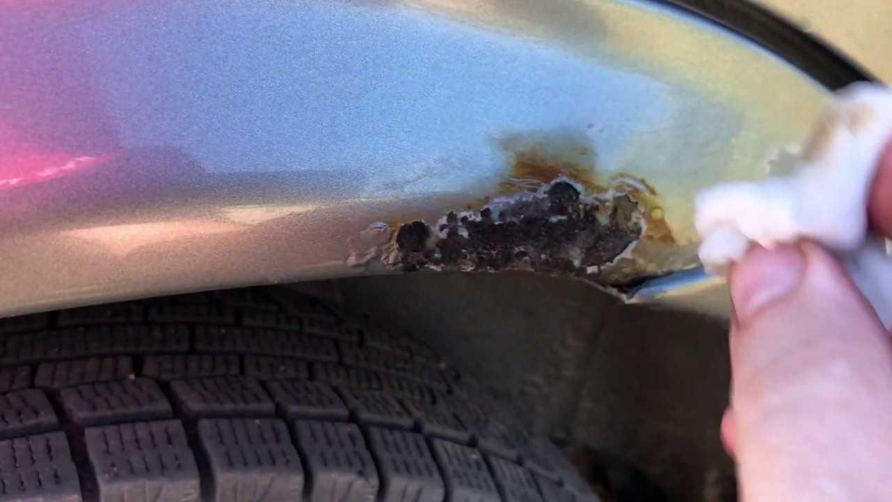 Ржавчина на кузове: можно ли убрать дефект своими руками и какие методы самые эффективные
