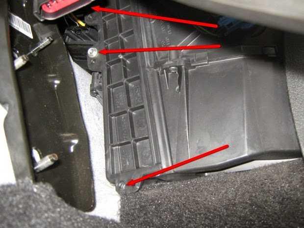 Форд фокус 3: замена салонного фильтра