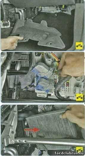 Воздушный фильтр форд фокус 2: где находится, замена - автоэксперт