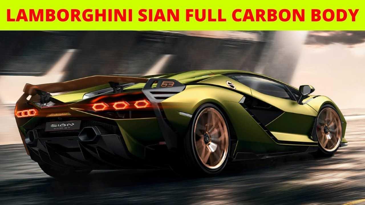 Lamborghini sian fkp 37 - характеристики, фото, видео, обзор