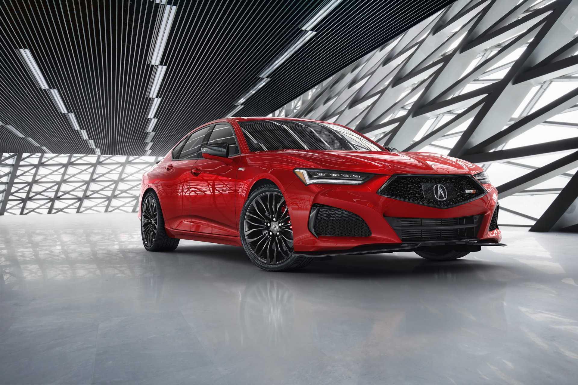 Новый Acura TLX готовится к продажам уже в сентябре а вот заряженный TLX Type S появится только весной 2021 года