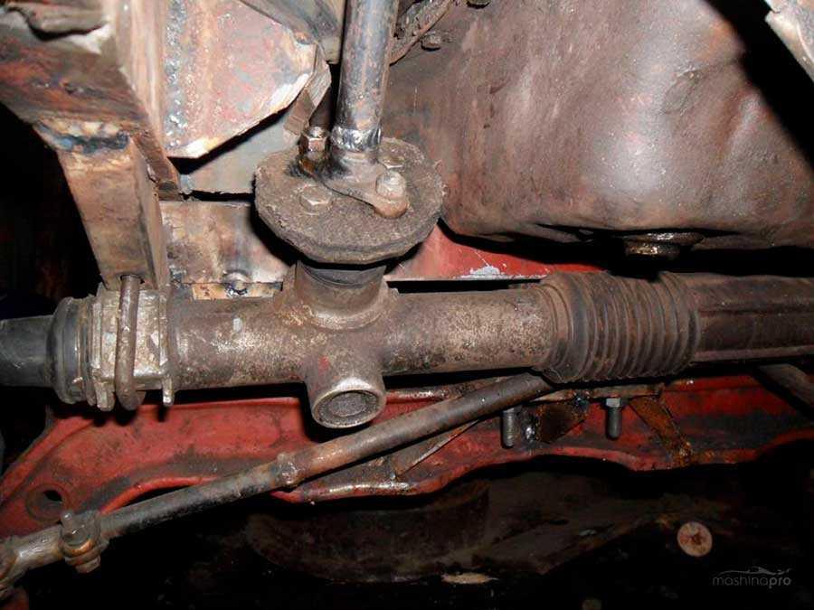 Самостоятельный ремонт рулевой рейки ваз 2110