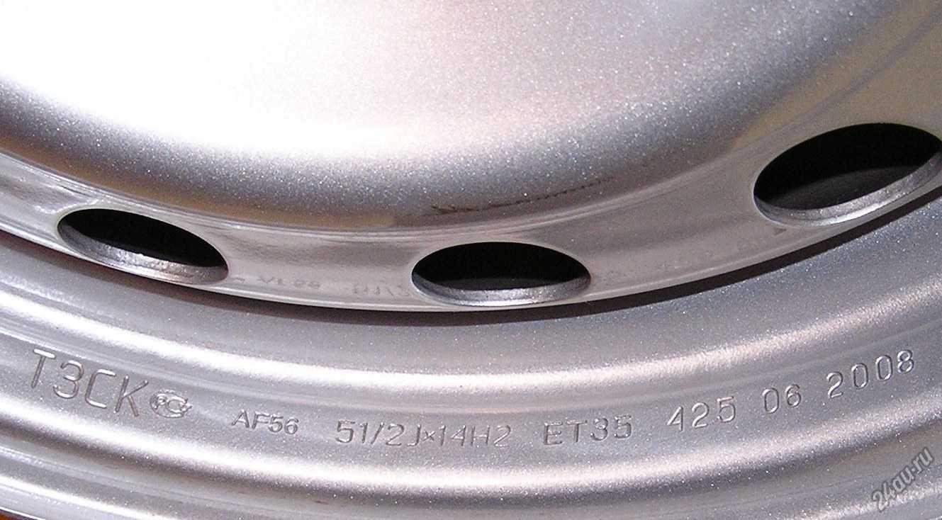 Параметры диска автомобиля: расшифровываем значения