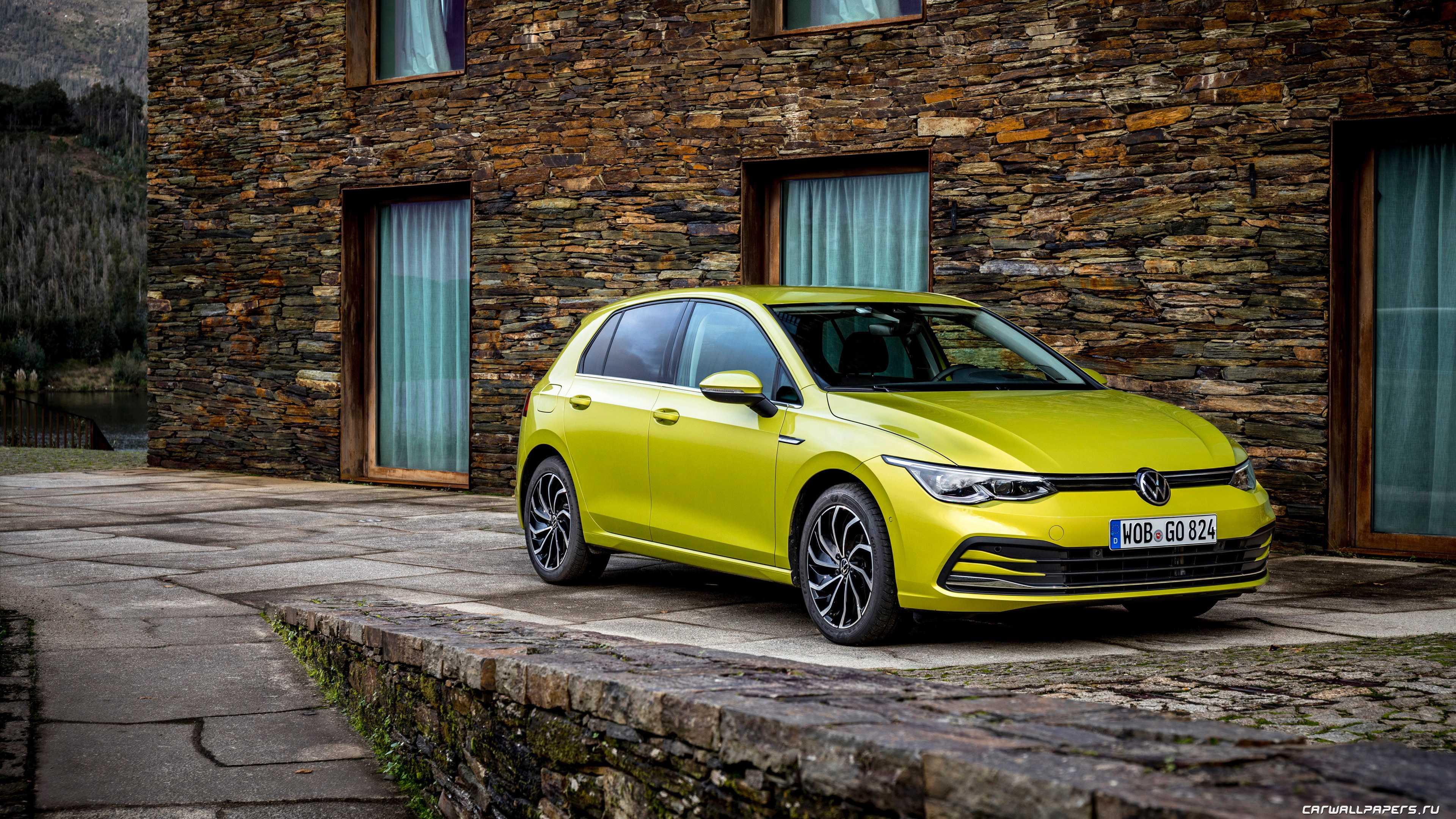 Немцы представили Volkswagen Golf 8 поколения Культовый автомобиль внешне осовременили но в общем Гольф остался узнаваемым
