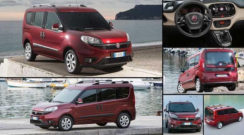Fiat doblo 2019 – компактный минивэн с достойным функционалом