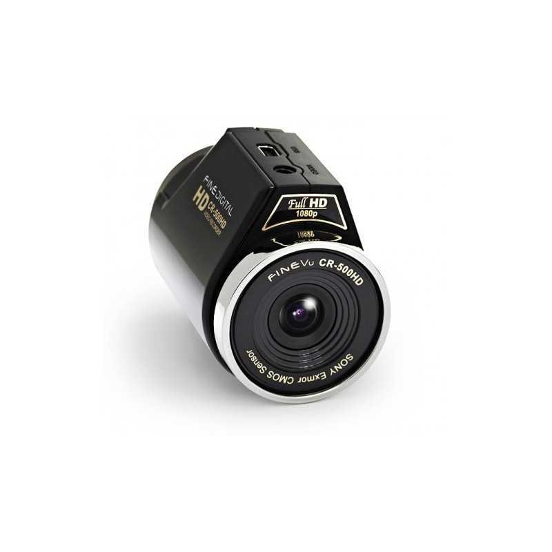 FineVu CR-500HD обзор видеорегистратора фото видео характеристики