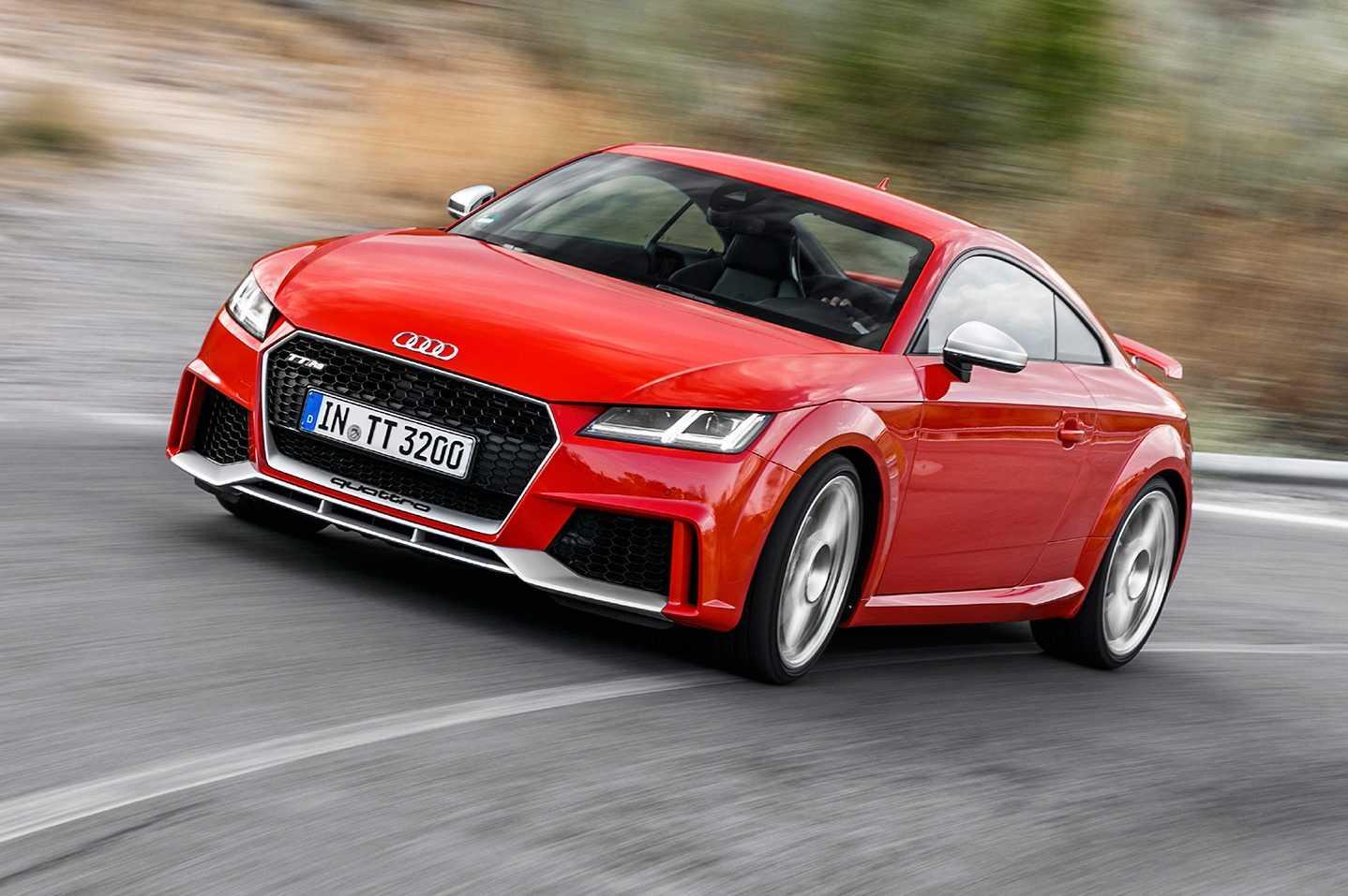 Audi TT характеристики тест драйв двигатель трансмиссия фото видео