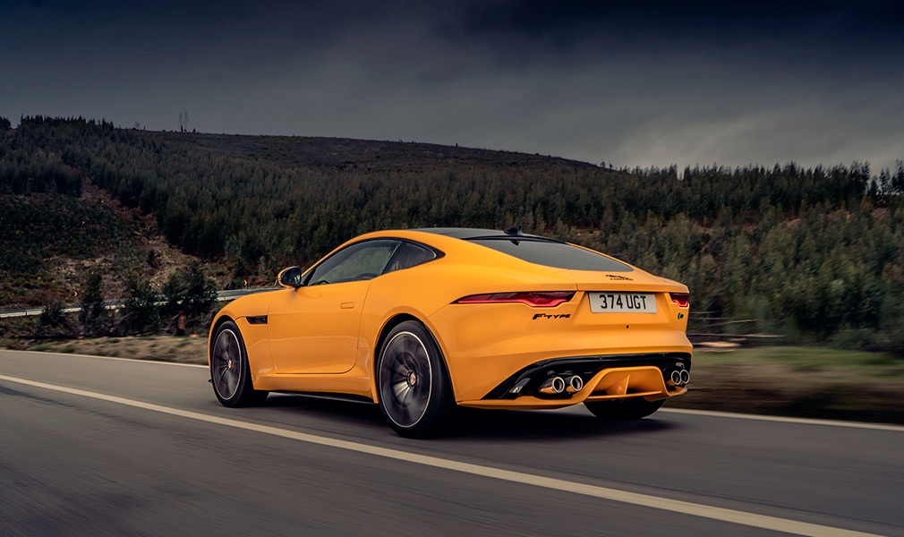 Jaguar f-type coupe: обзор и фото