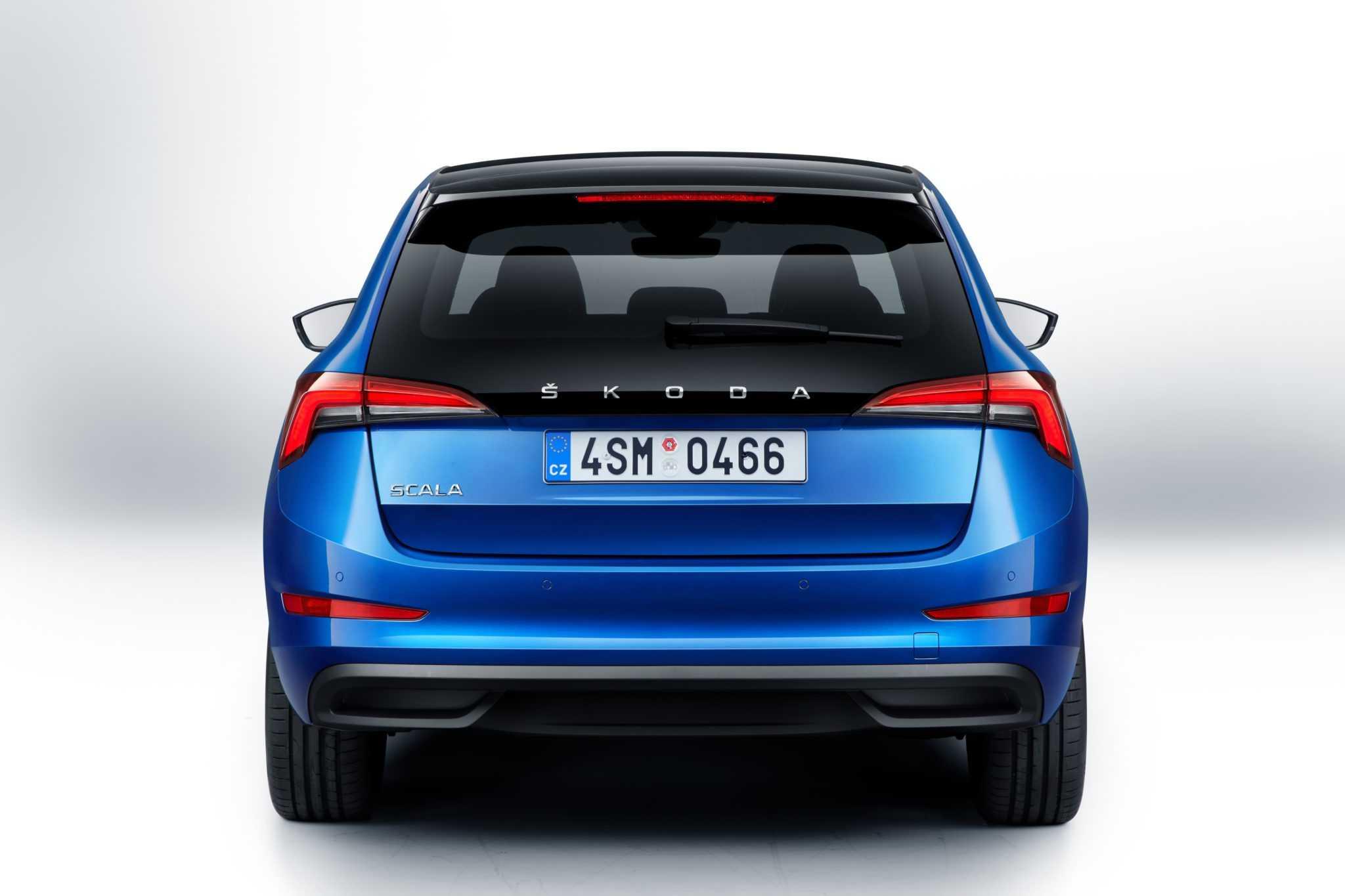 Skoda scala - новая модель сегмента компактных автомобилей