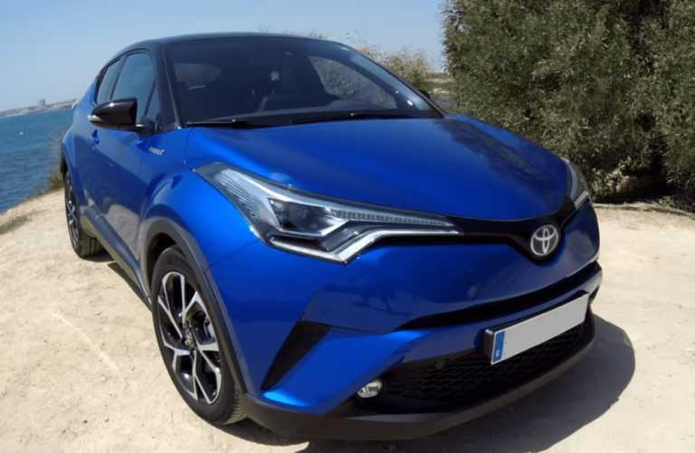 Электромобиль toyota c-hr hybrid - свежий обзор, цена, запас хода