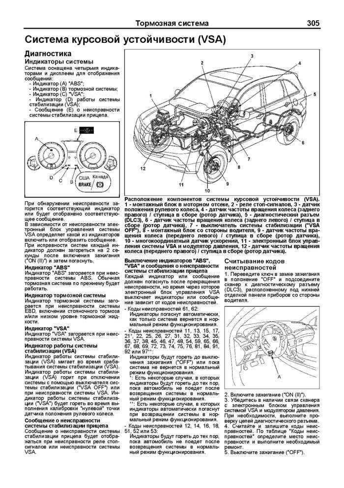 Предостережения и правила техники безопасности при выполнении работ на автомобиле acura mdx с 2006 года