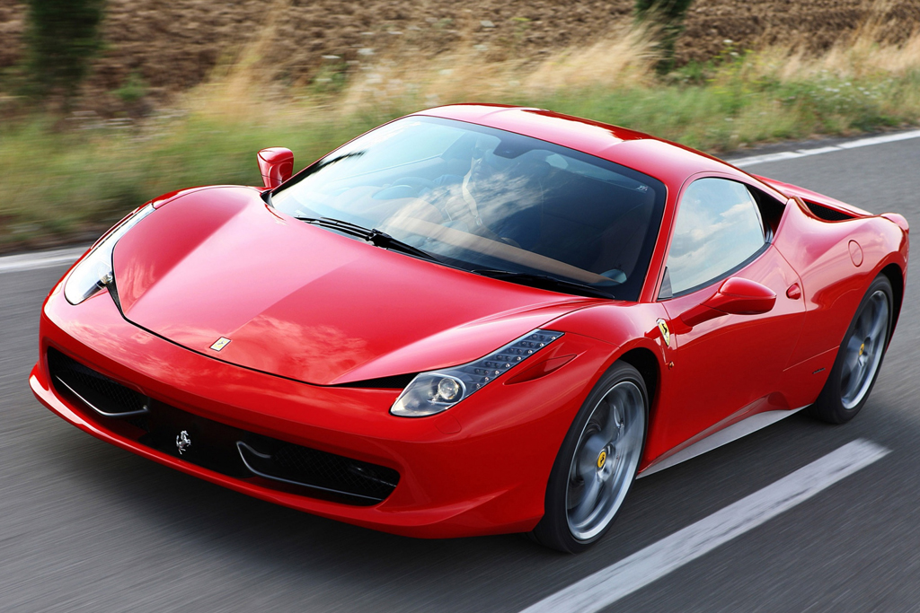 Ferrari 458 italia сменила название и получила турбомотор