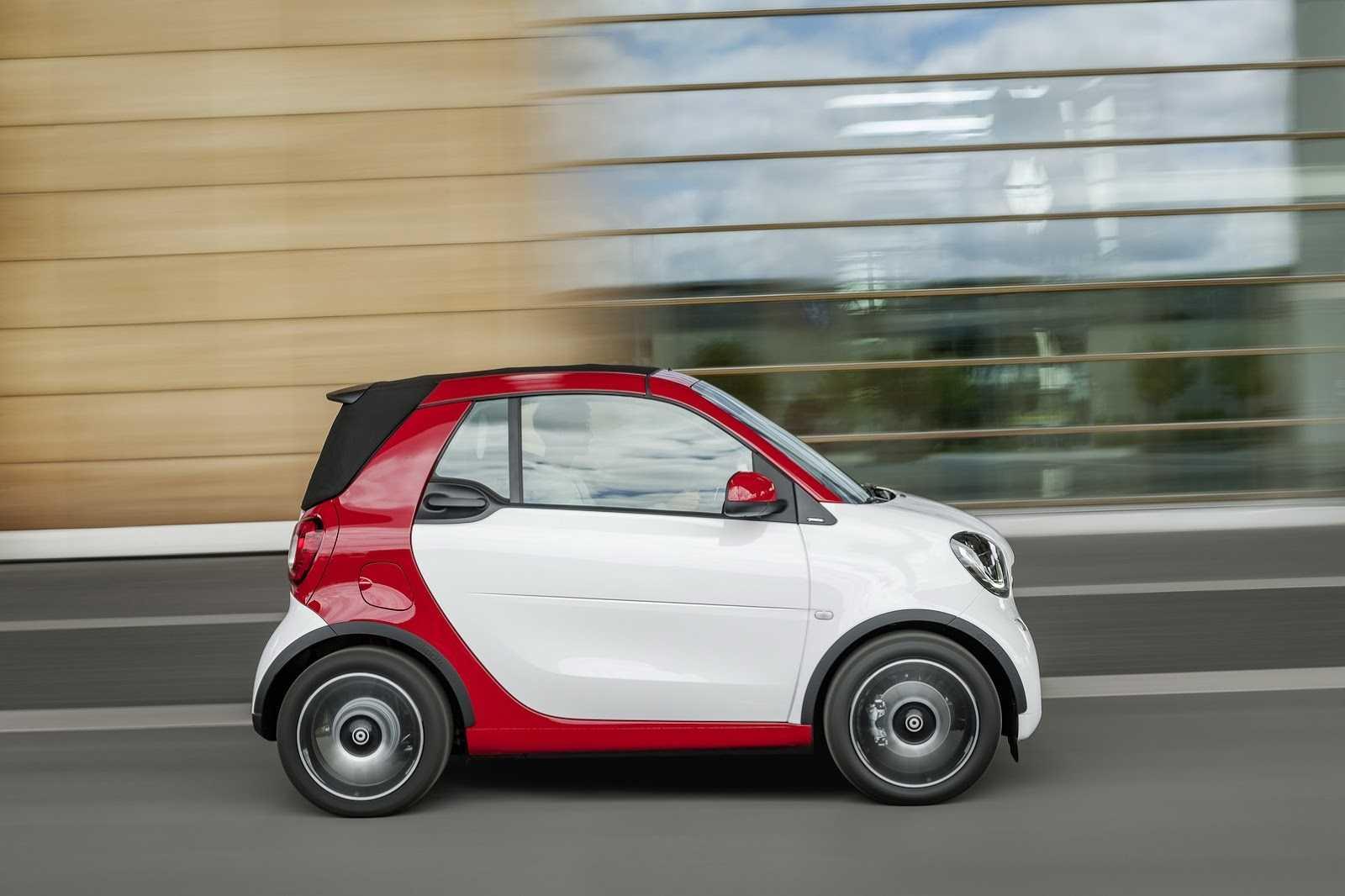 Smart fortwo cabrio привезут во франкфурт - «автоновости»