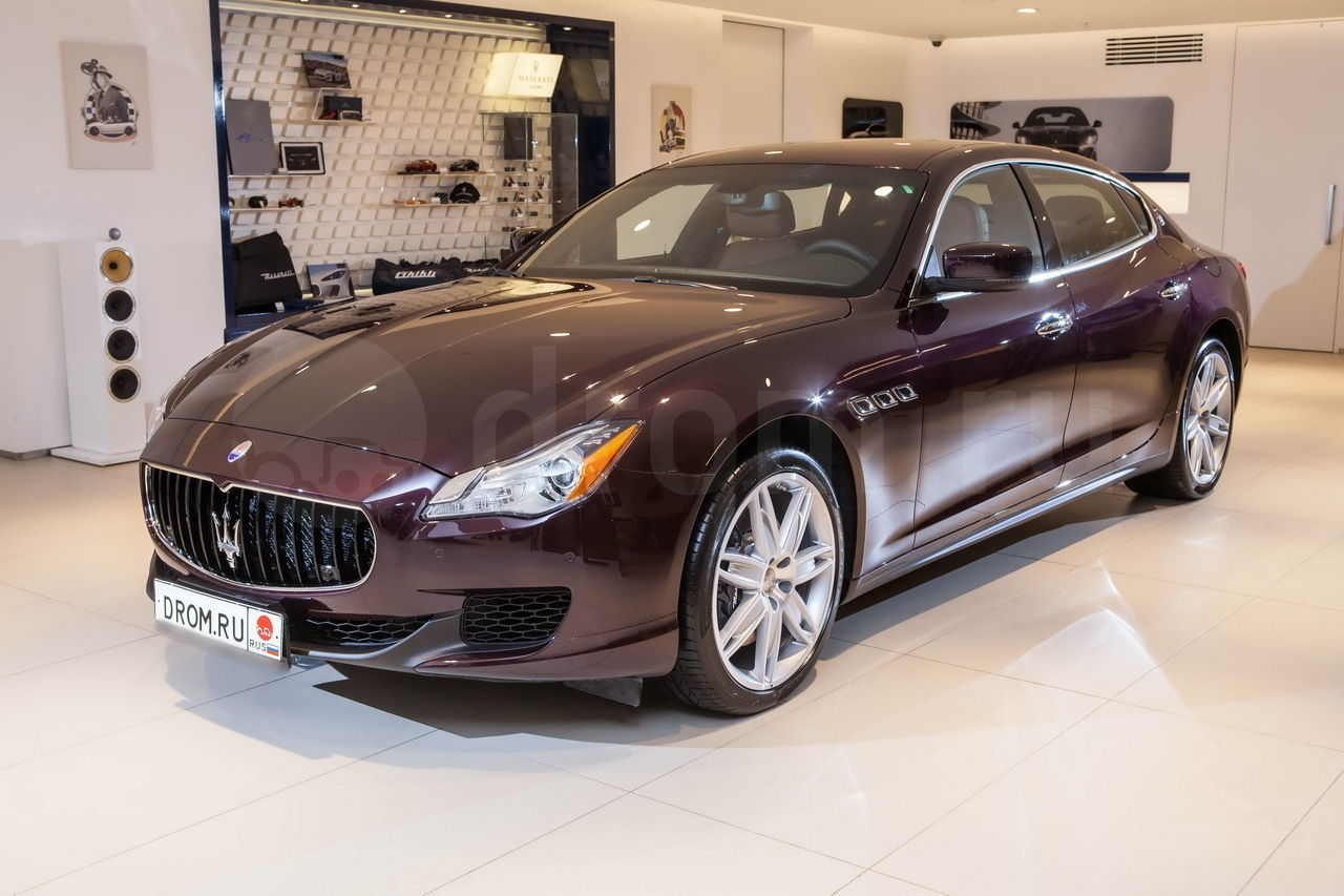 Автомобиль Maserati Quattroporte S полный обзор новый мотор для новых побед инновационная трансмиссия ходовая часть подвеска и курсовая