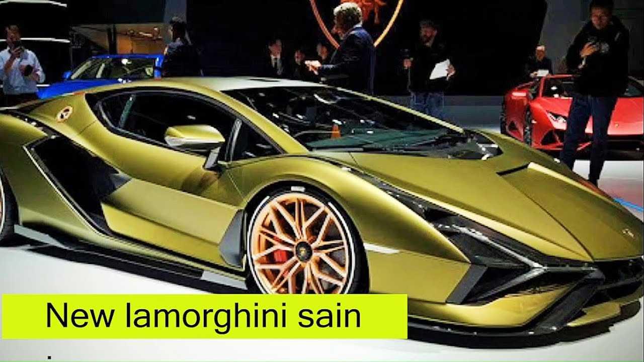 Cуперкар lamborghini sian fkp 37 дебютировал во франкфурте