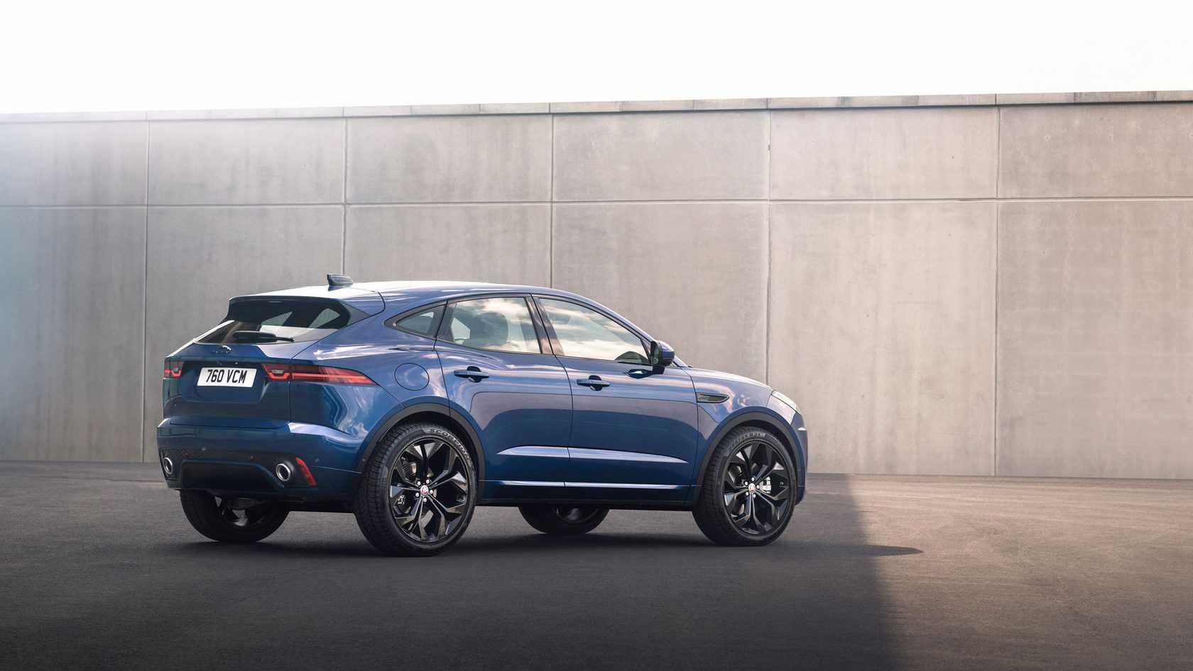 Jaguar e-pace 2018 - фото, характеристики и цены