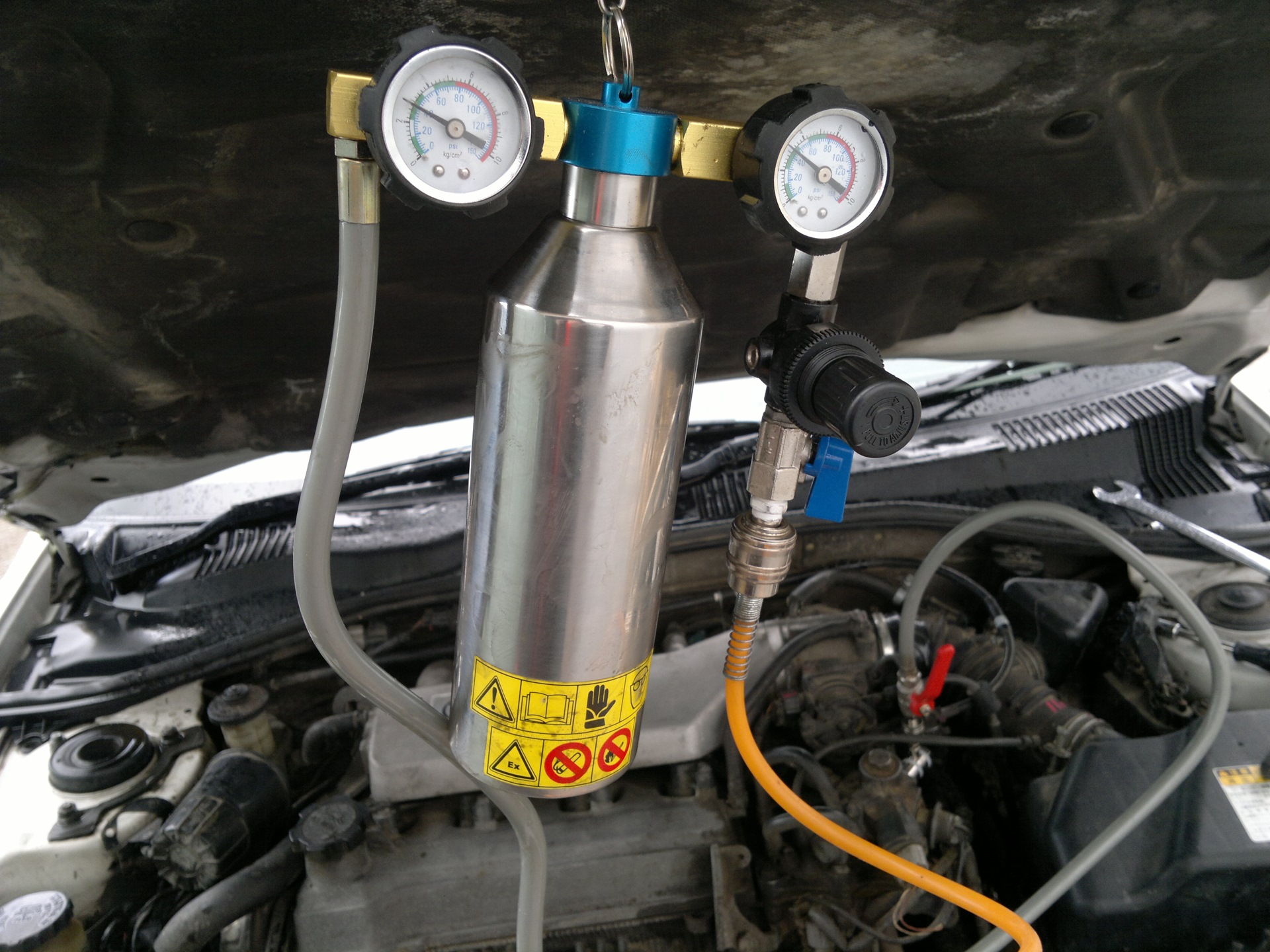 Как промыть топливную систему дизельного двигателя: способы