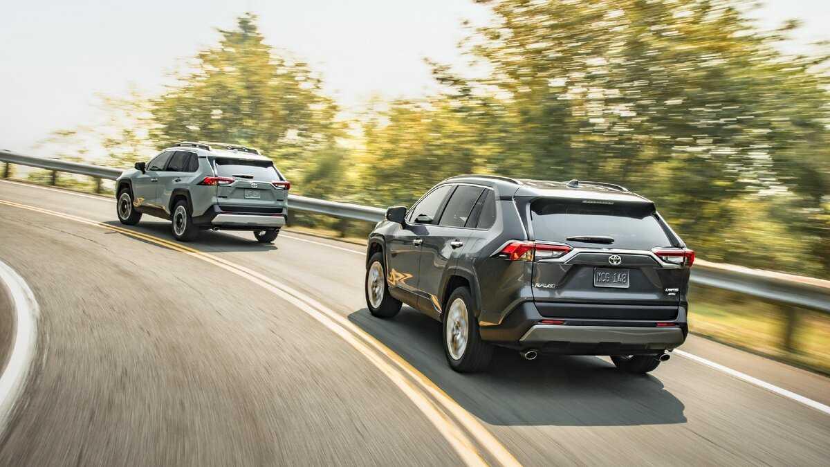Тойота рав 4 2020 (5) новый кузов, комплектации и цены, фото