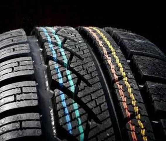 Что означают полоски и точки на автомобильных шинах - zefirka
