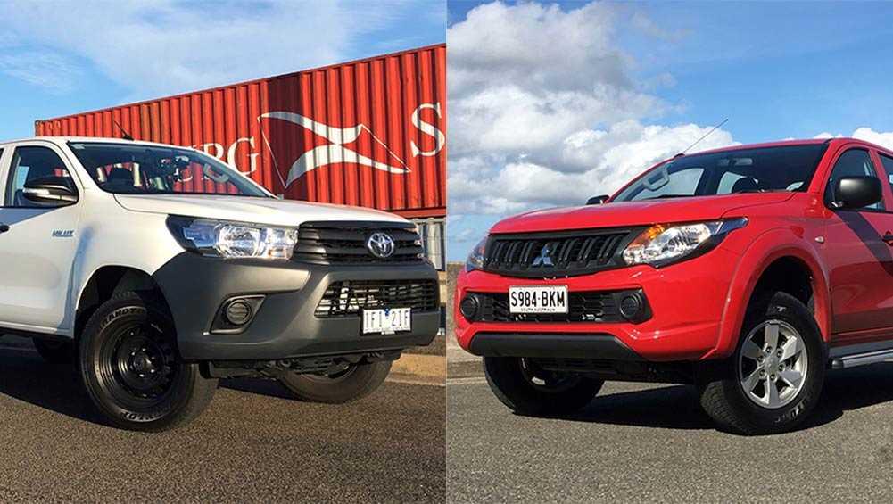 Mitsubishi запаздывает с модернизацией l200: новый toyota hilux стал производительнее и комфортнее