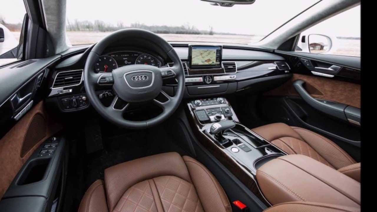 Audi представила спортивный седан s8 нового поколения
