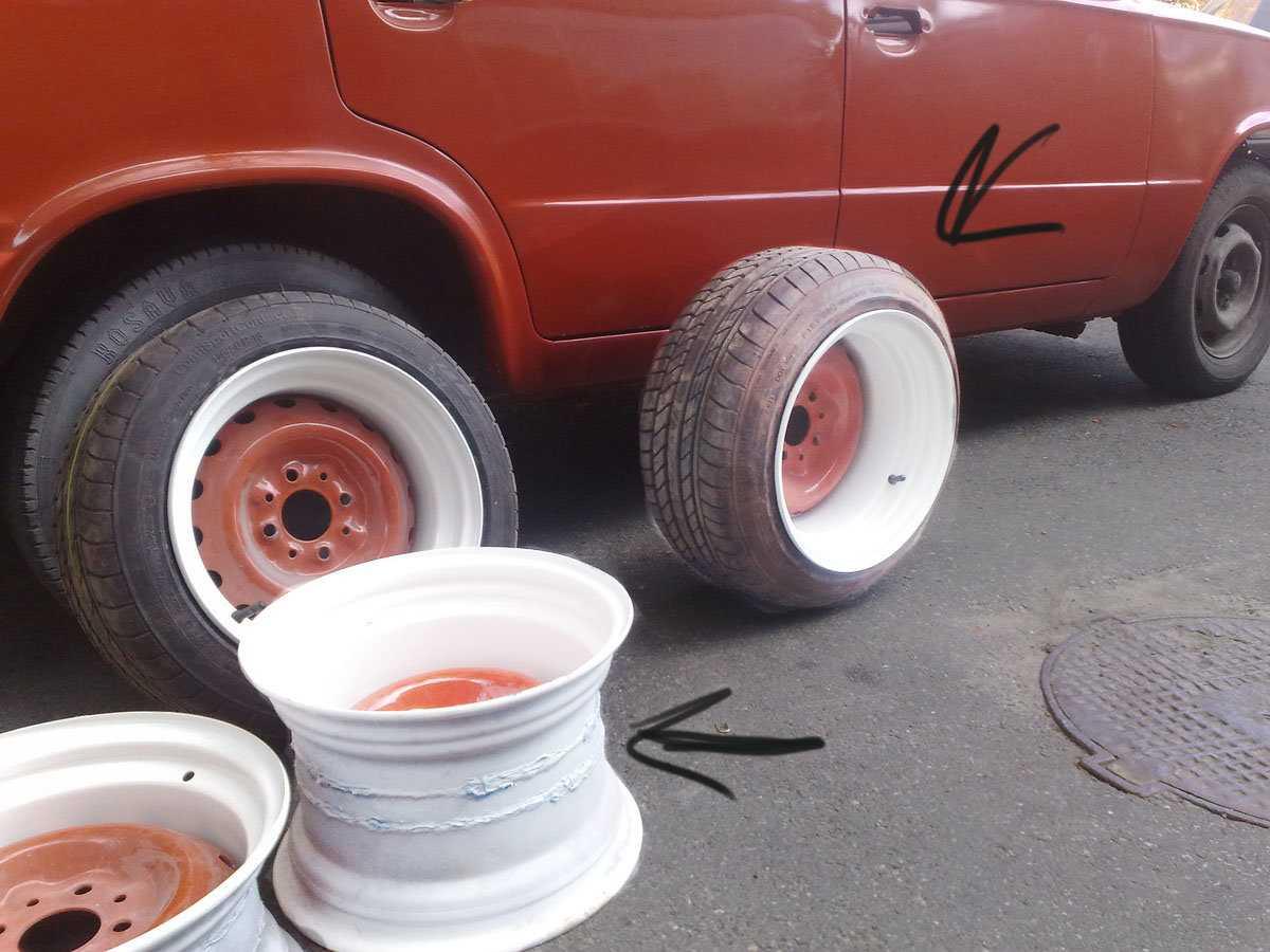 Как делается разварка дисков для автомобиля. как выполнить разварку дисков. способы проведения разварки дисков.
