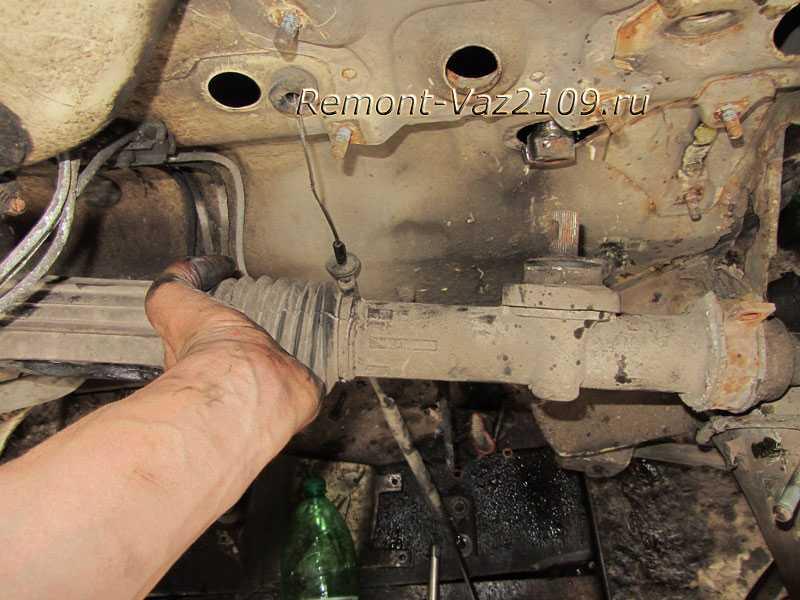 Восстановление или замена рулевого механизма ваз-2109, ваз-2110