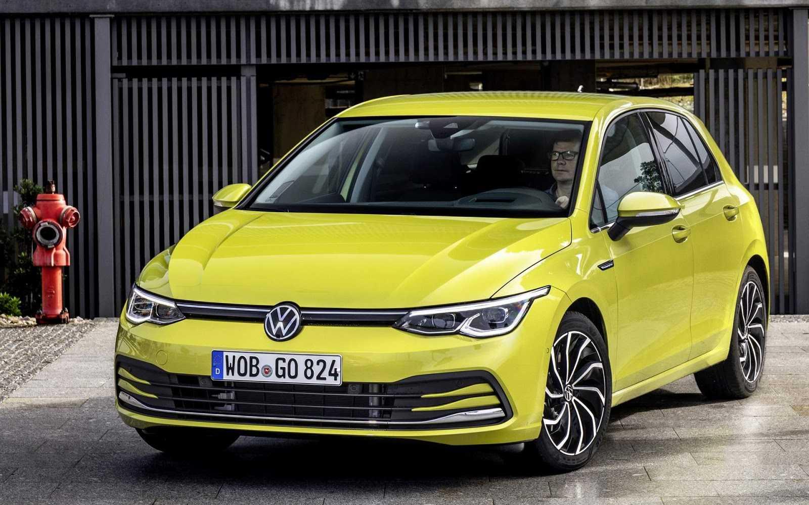 Фольксваген гольф 8, 2019-2020 года, характеристики, двигатели, фото, цена.