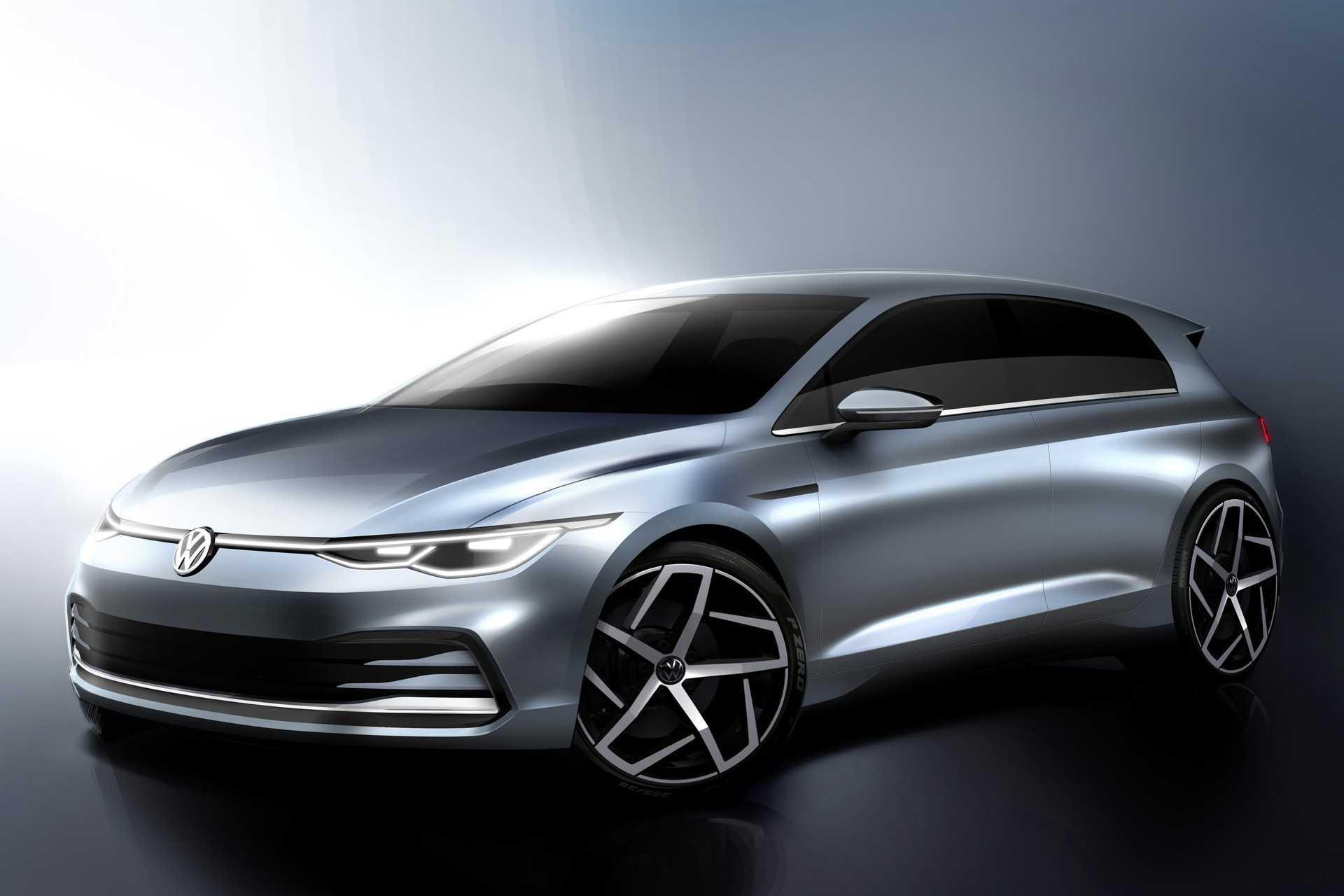 Volkswagen golf 2020 года — популярный хэтчбек в новом обличье с инновационным оборудованием