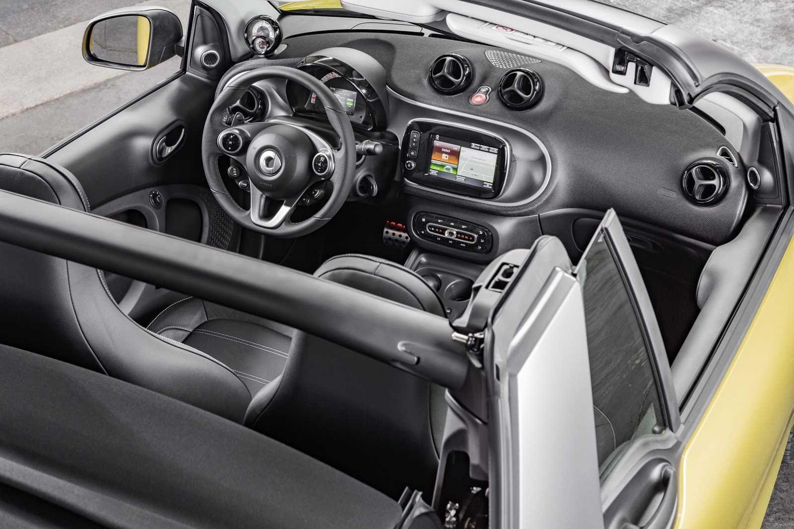 Smart Two Cabrio 2016 обязывали компанию презентовать на авто - шоу во Франкфурте уже в середине сентября