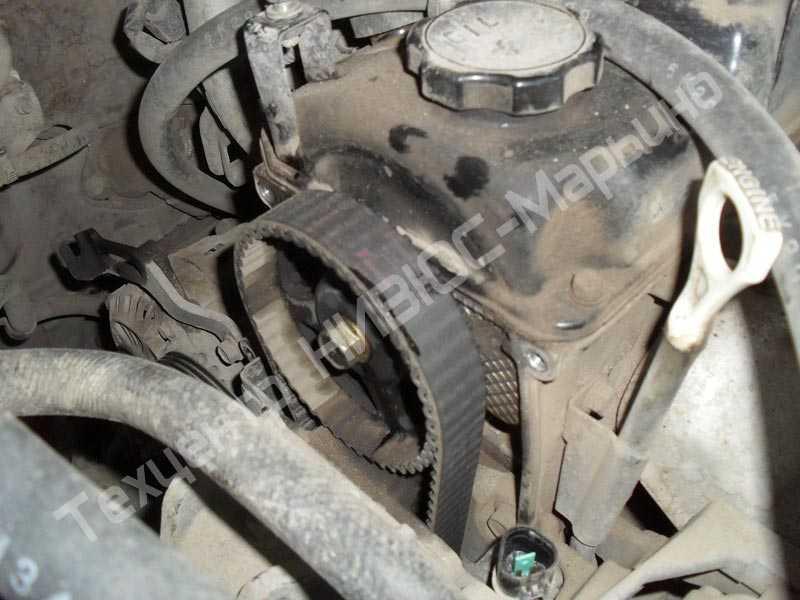 Когда менять ремень грм в двигателе