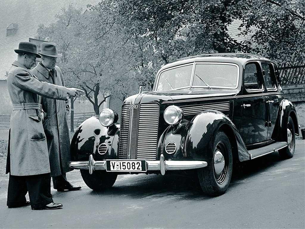 История немецких автомобилей