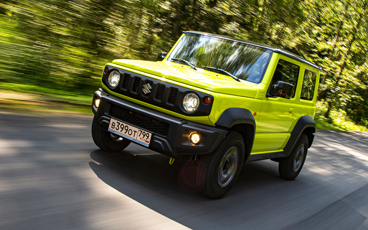 Suzuki jimny 2019 2020 года   все про авто