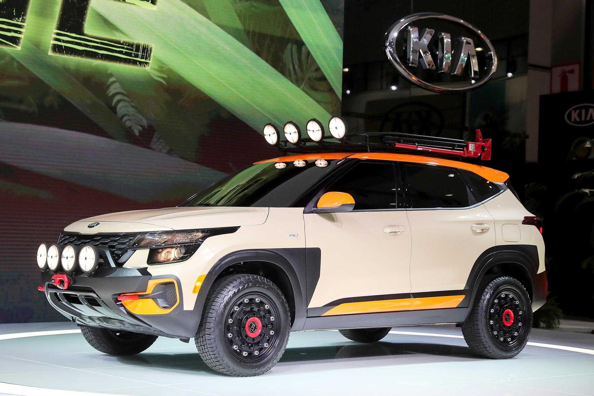 Новый 2020 kia soul представлен на «лос-анджелес автошоу»