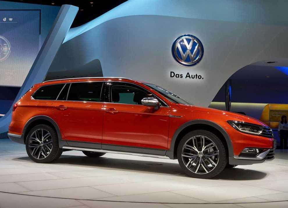 Volkswagen passat 2.0 tsi dsg alltrack (04.2016 - 12.2017) - технические характеристики