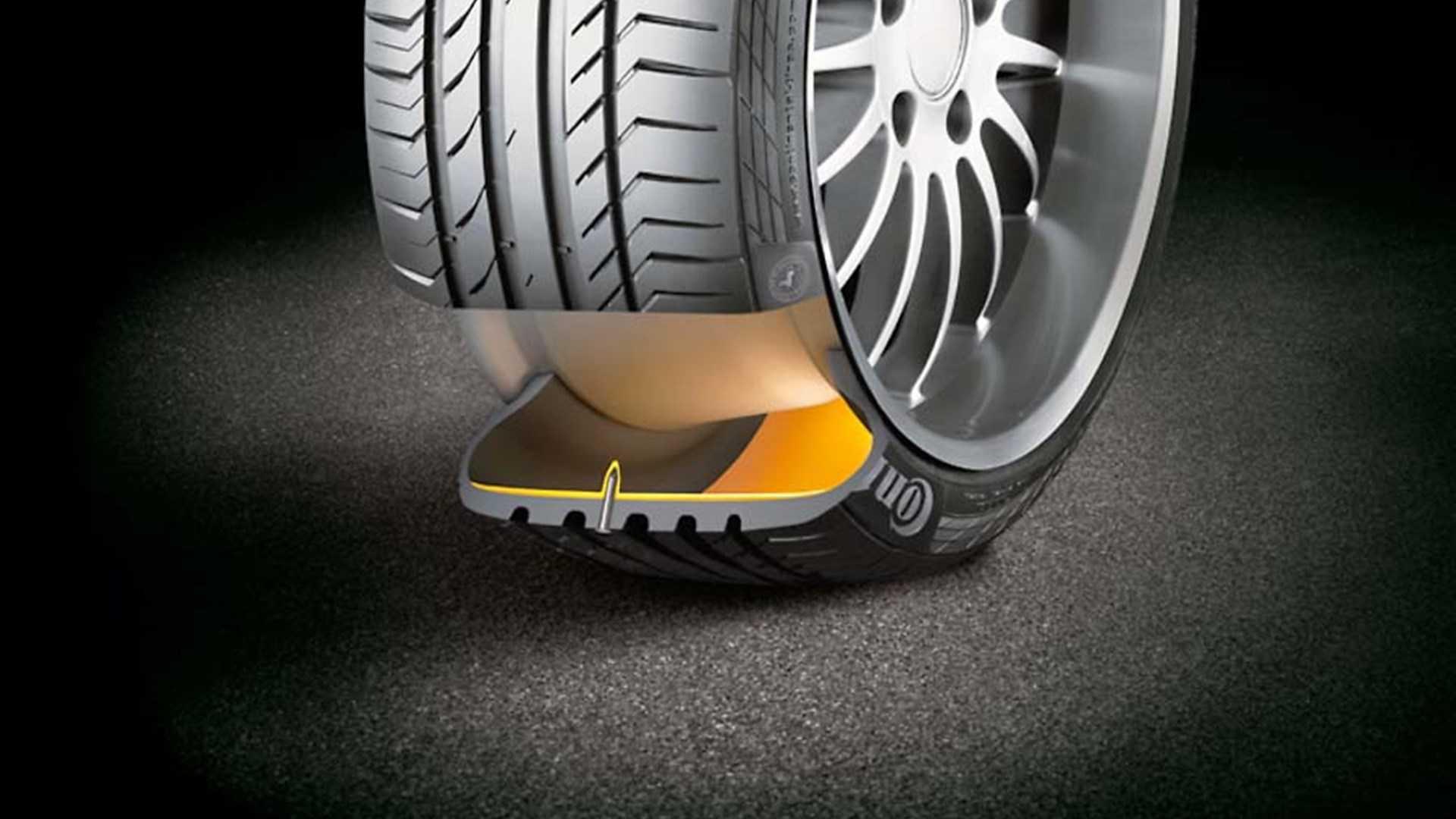 Run flat шины, что это такое