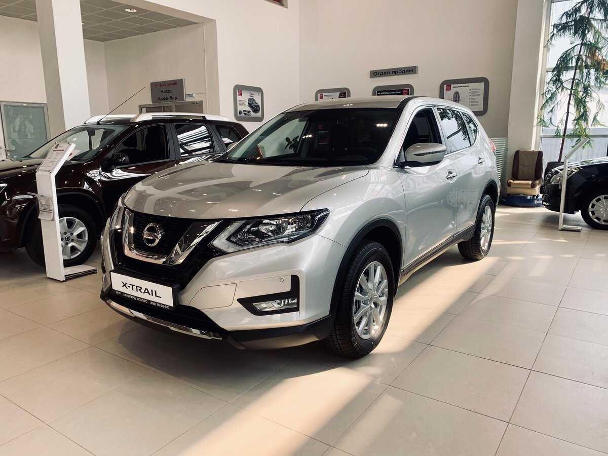 Nissan x-trail (rogue) 2020-2021 модельного года в новом кузове