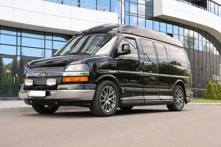 Chevrolet express рестайлинг 2002, 2003, 2004, 2005, 2006, автобус, 1 поколение технические характеристики и комплектации