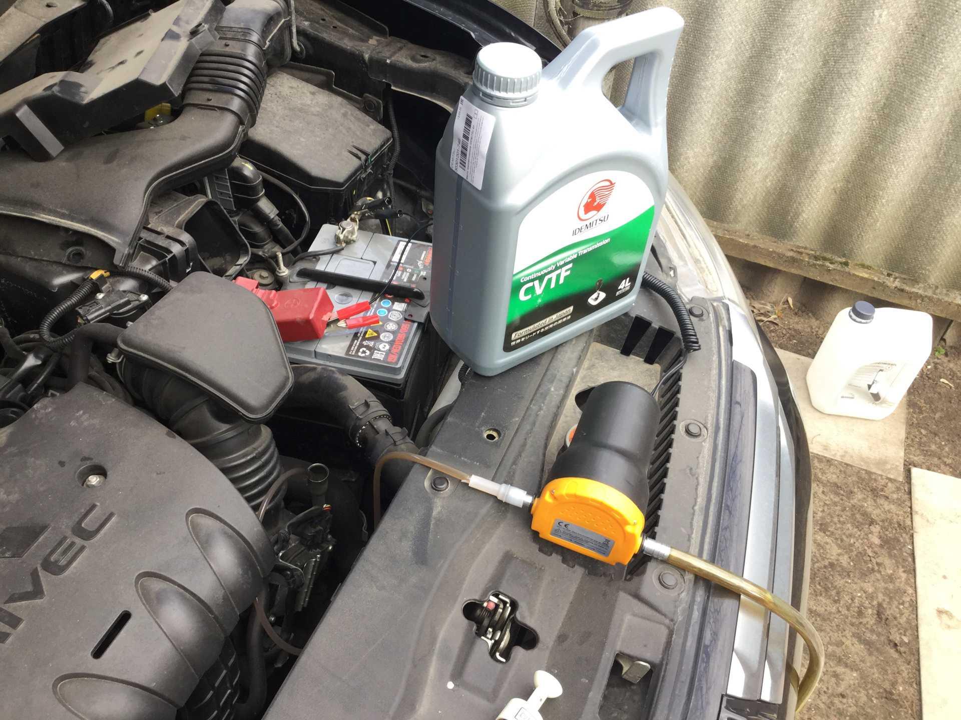 Митсубиси аутлендер как проверить уровень масла в вариаторе; разбираем главное