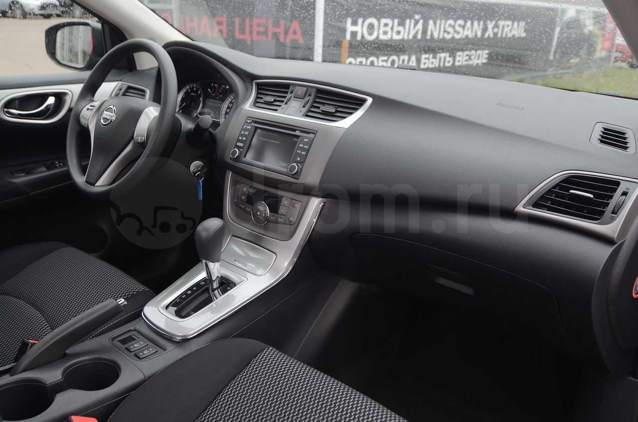 Nissan sentra 2014, 2015, 2016, 2017, седан, 7 поколение, b17 технические характеристики и комплектации
